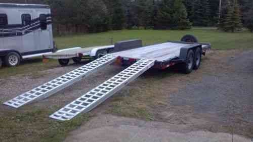 12 Ft 5000lb Aluminum Trailer Ramps Up For Sale Is A Vans