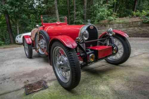 Bugatti Type 37 1928 1927 Bugatti Type 37 Replica This Car Used Classic Cars