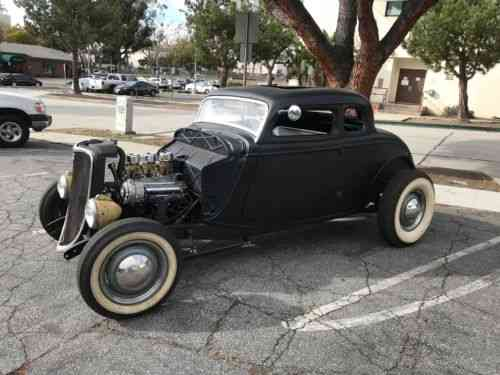 Ford chopped, hot rod, model 40 (1933)