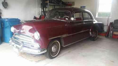 Chevrolet styleline deluxe base sedan 4 door 1951 used for 1951 chevrolet styleline deluxe 4 door sedan