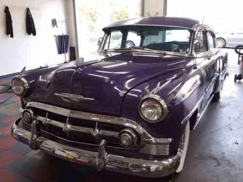Chevrolet Bel Air 150 210 4 Door 1953 Chevy Bel Air 83 840 Used Classic Cars