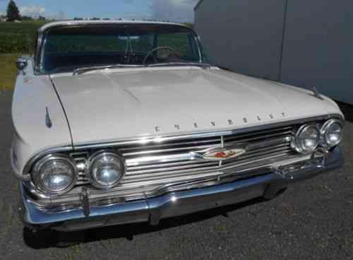 Chevrolet Impala 1960 Chevy Impala 4 Door Hardtop Very Nice Used
