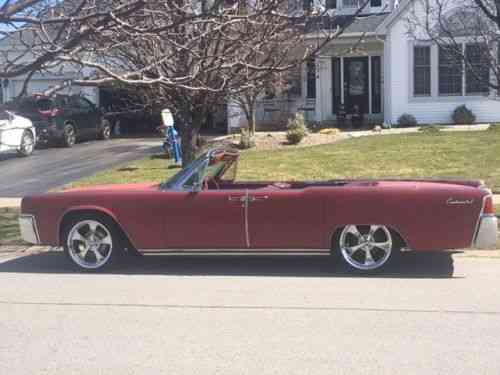 Lincoln Continental Convertible 1962