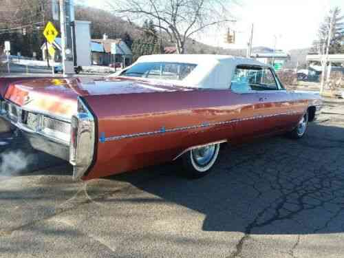Cadillac Deville Convertible 1965 Cadillac Deville Used Classic Cars
