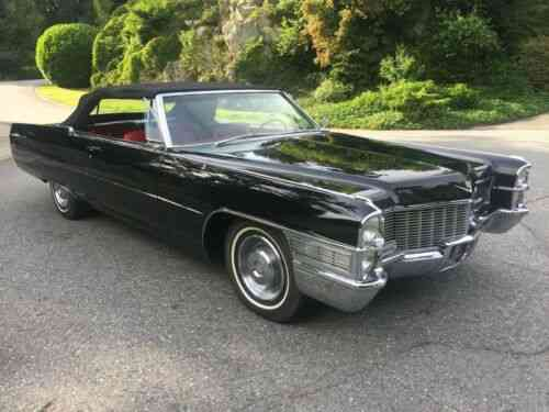 Cadillac Deville Coupe Deville Convertible 1965 Cadillac Used Classic Cars