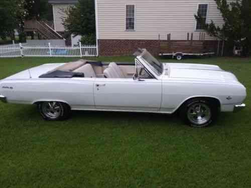 Chevrolet Chevelle Malibu SS Convertible (1965)