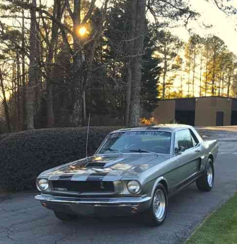 Ford Mustang Shelby Gt350 (1965) Please Read Entire Ad
