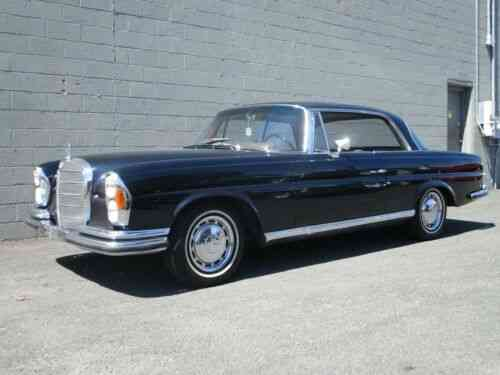 Mercedes 220se W111 Coupe 1965 Very Desirable Mercedes 220se Used Classic Cars