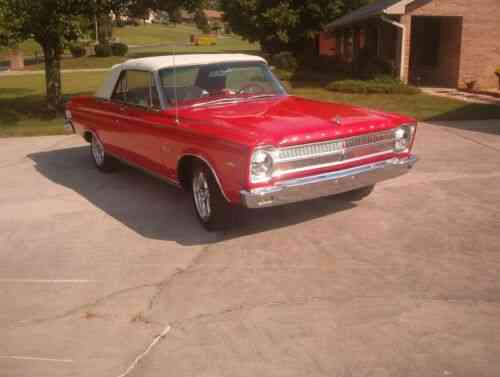 65 plymouth satellite rare 65 convt 383 with factory air efi used classic cars carscoms com