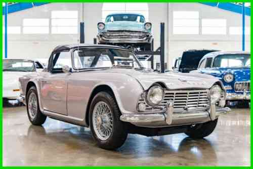 Triumph TR4 4-Speed Manual With Overdrive Convertible Restored 65 (1965)
