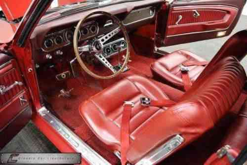 Ford Mustang 65 - Red Luxury (1966)