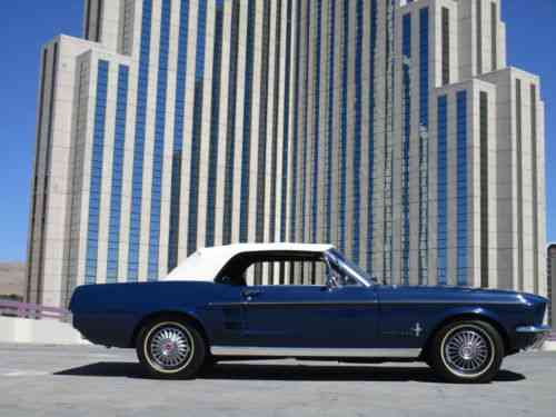 Ford Mustang -- (1967)