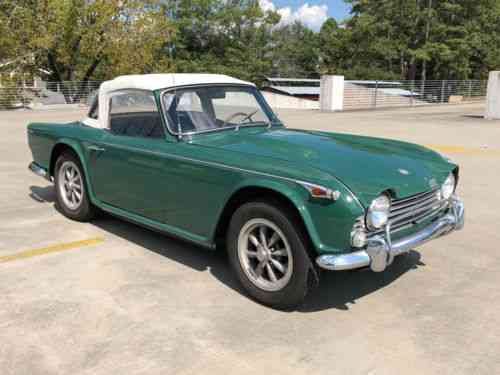 Triumph Other Irs 1967 For Sale Is A Triumph Tr4a Irs With A Used