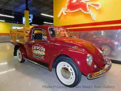 VW BEETLE SURF TRUCK CLASSIC RESTO BLUETOOTH AIR SUSP WARRANTY FREE SHIP  (1967)
