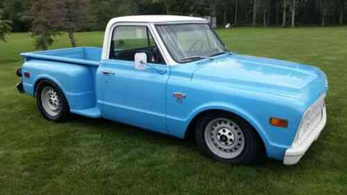 Chevy C10 Stepside Shortbed Pickup 1968 This Is A Chevrolet Used