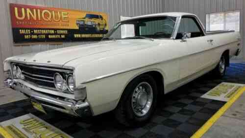 1963 Ford Ranchero - Custom - One Of A Kind - 2 Chopped Top