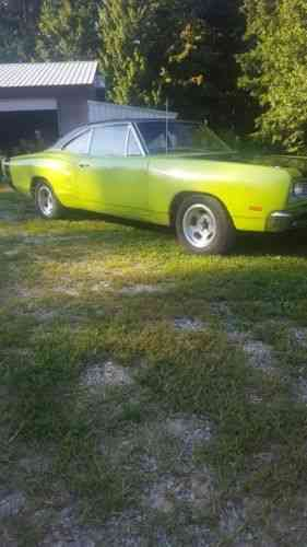 Dodge Coronet 440 1969 I Have A Dodge Coronet Its In Great Used