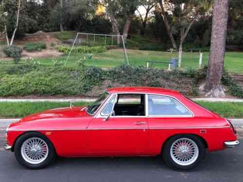 MG MGB RUST FREE (1969)