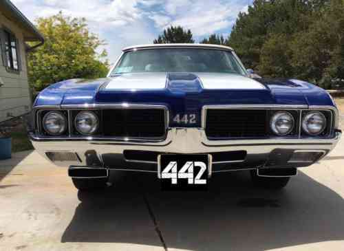 Oldsmobile 442 442 1969 442 Convertible Numbers Matching Used