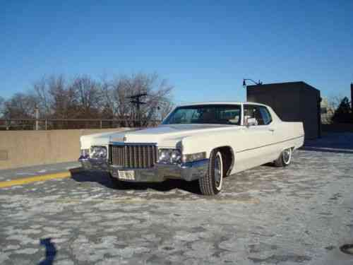 Cadillac Deville Coupe Deville 1970 Cadillac Deville Time Used