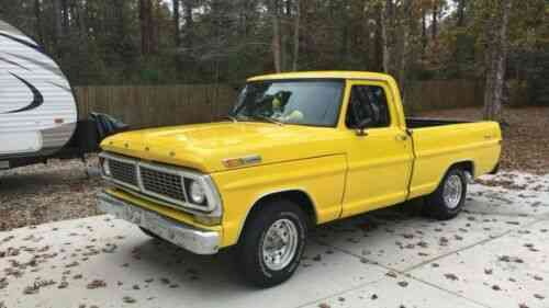 Ford Truck Ranger 1970 What We Have Here Is A Hard To Find Used