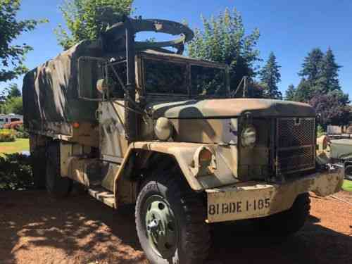 1970 M35A2 Military Deuce and Half 2 5ton Multifuel 6x6 Army Truck