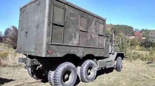 1970 M818 5 Ton Army truck w M109 shop Body!!!deuce and a half M35 Big  Brother