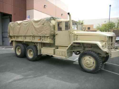 Am General M35a2 2/12 Ton 6x6 Deuce And A Half (1983) For