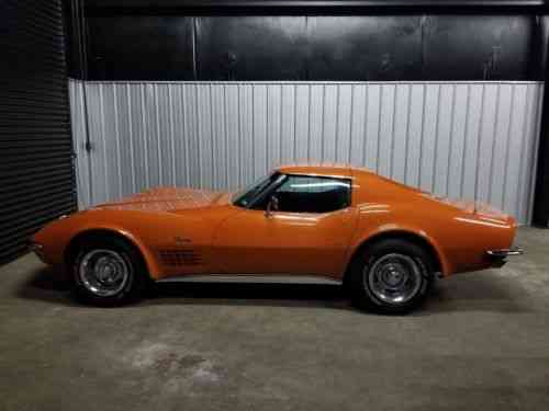 Chevrolet Corvette Stingray 1972 Hate To Sell But Is Time Used