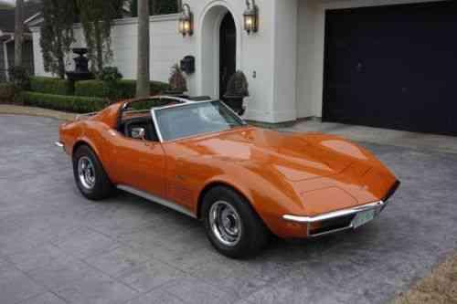 Chevrolet Corvette Stingray 1972 Chevrolet Corvette Stingray Used