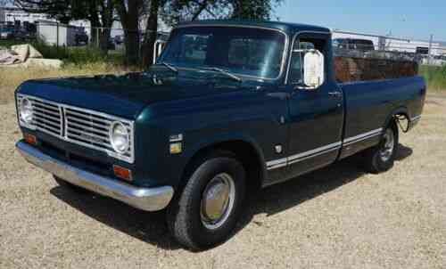 International Harvester Pickup Swb (1967) This Auction Is