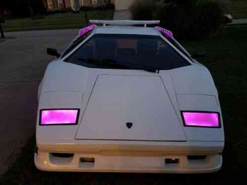 Lamborghini Countach Anniversary 1974 This Car Has Been Used