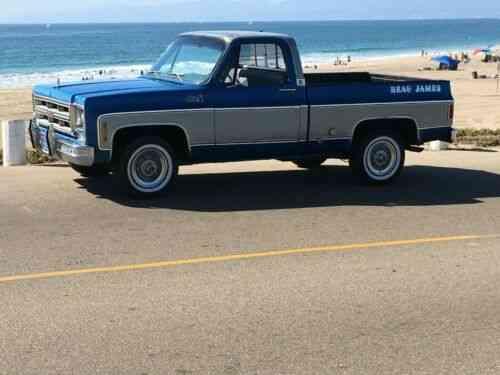 Gmc Beau James 454 Big Block C10 Short Bed California Blue Used Classic Cars