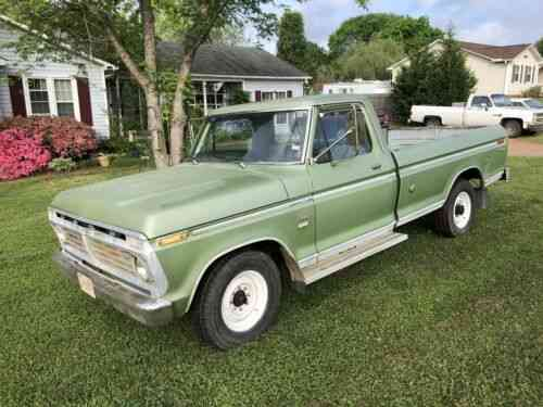 1975 Ford F250 >> Ford F250 Camper Special 1975