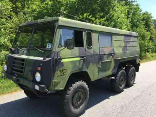 Volvo Tgb131 A Mt Ex Swedish Military 1975