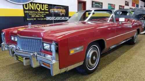 Cadillac Eldorado One Of A Kind George Barris Counting Cars Used