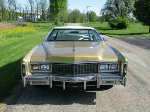 New Cadillac Eldorado >> Cadillac Eldorado Excellent Condition Clean As New 68 556 Actual Miles 1977