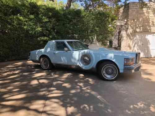 Cadillac Seville 1978 Vehicle Description This Is A One Used