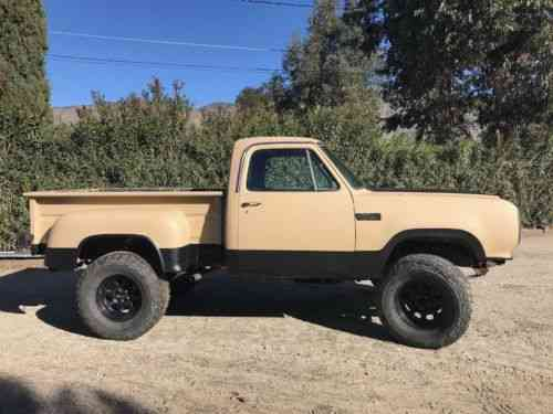 Dodge Power Wagon For Sale >> Dodge Power Wagon 1978 For Sale Vin On Vehicle Lists As A Used
