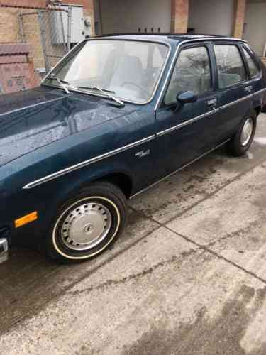 chevrolet chevette 1979 chevrolet chevette condition good used classic cars chevrolet chevette 1979 chevrolet