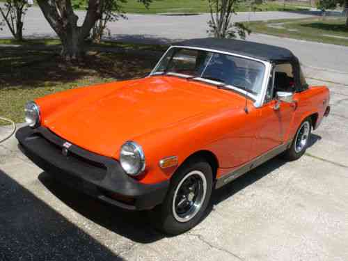 Mg Midget Convertable 1979 Convertible Ready To Used Clic Cars