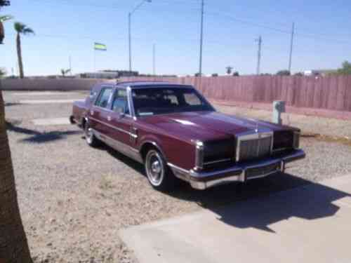 Lincoln Mark Series Major, lots, chrome (1980)