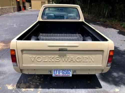 Volkswagen Rabbit Pickup (1981)
