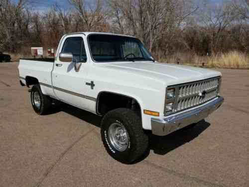 Chevrolet Silverado 1500 1982