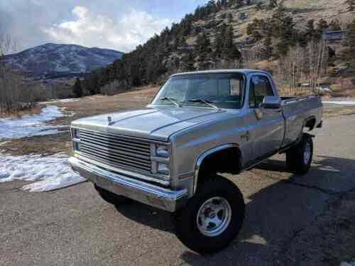 Chevrolet Silverado 1500 K10 1982