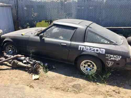 Mazda Rx7 Runs Drives Been Sitting For A While Coil: Vans, SUVs, and Trucks Cars