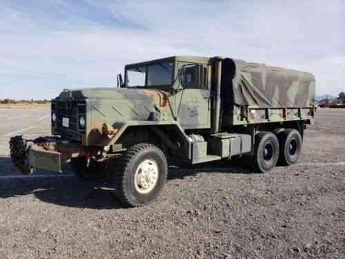 Am General Am General M925 5 Ton Army Truck For Sale Cummins Vans