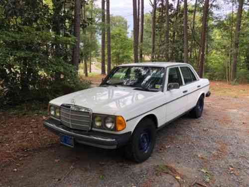 Mercedes Benz 200 Series 1983 Up For Sale Is My W123 240d Used Classic Cars
