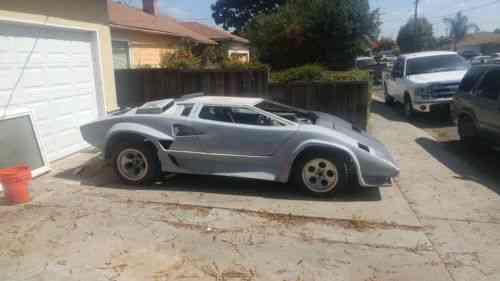 Pontiac Fiero Lamborghini Countach G80 1984 Listed Is My Used
