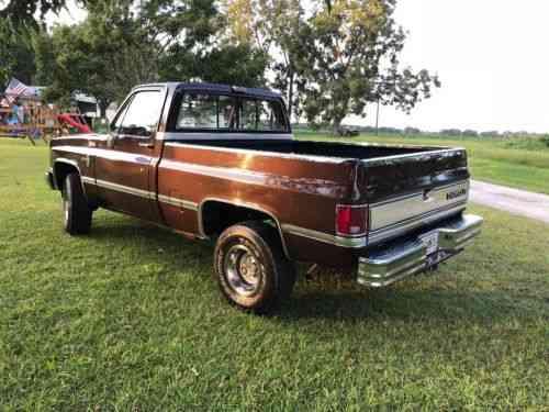 Chevrolet C/K Pickup 1500 Silverado (1985)